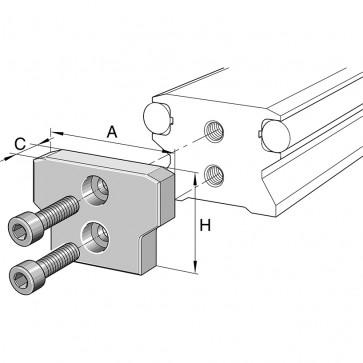 Концевые пластины ANS.LFS32-N