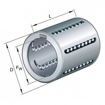 Шарикоподшипники KH40-PP