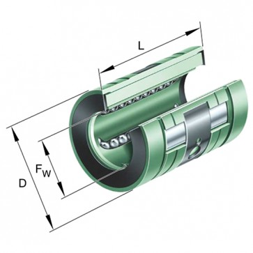Шарикоподшипники KNO16-B
