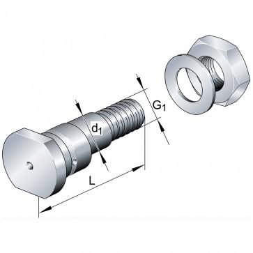 Эксцентрические цапфы LFE40x115-A1