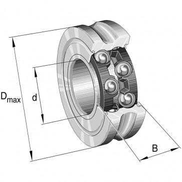 Направляющие ролики LFR5206-25-2RS-RB