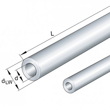Цилиндрические направляющие WH16h6