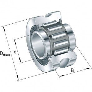 Направляющие ролики LFR2204-10-2RSR-NA