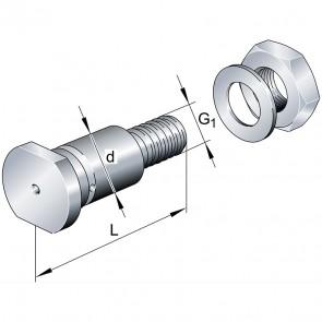 Центрические цапфы LFZ30x95-A1