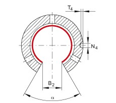 Шарикоподшипники KNO12-B-PP